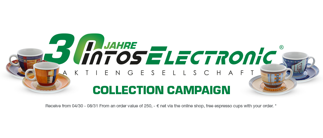 30 years INTOS - collection campaign