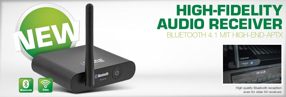 Bluetooth True Hi-Fi Audio Receiver