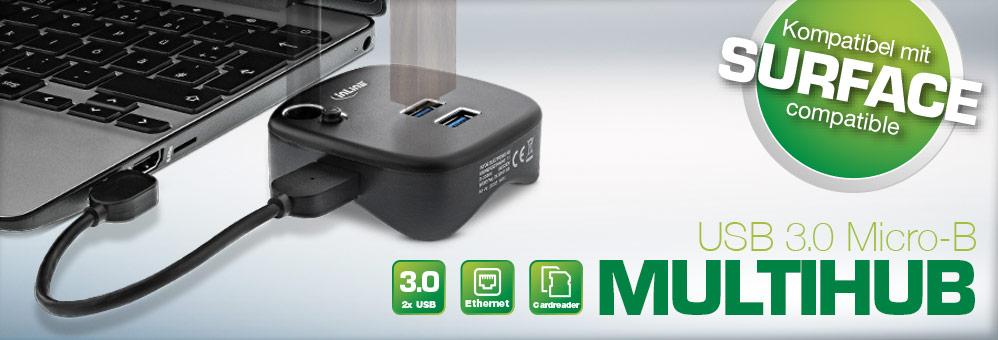 InLine® USB 3.0 Multihub