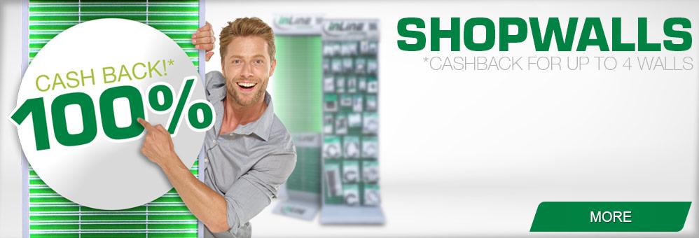 InLine Shopwalls