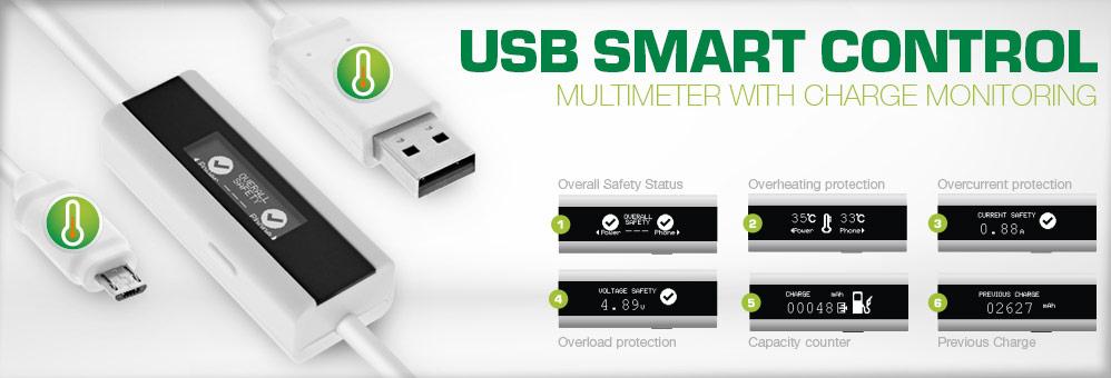 USB Smart Control, Multimeter