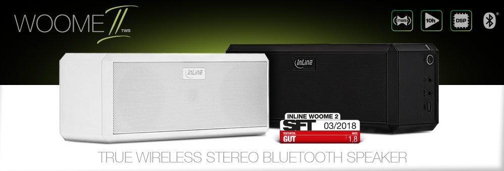 InLine WOOME 2 TWS Bluetooth Speaker