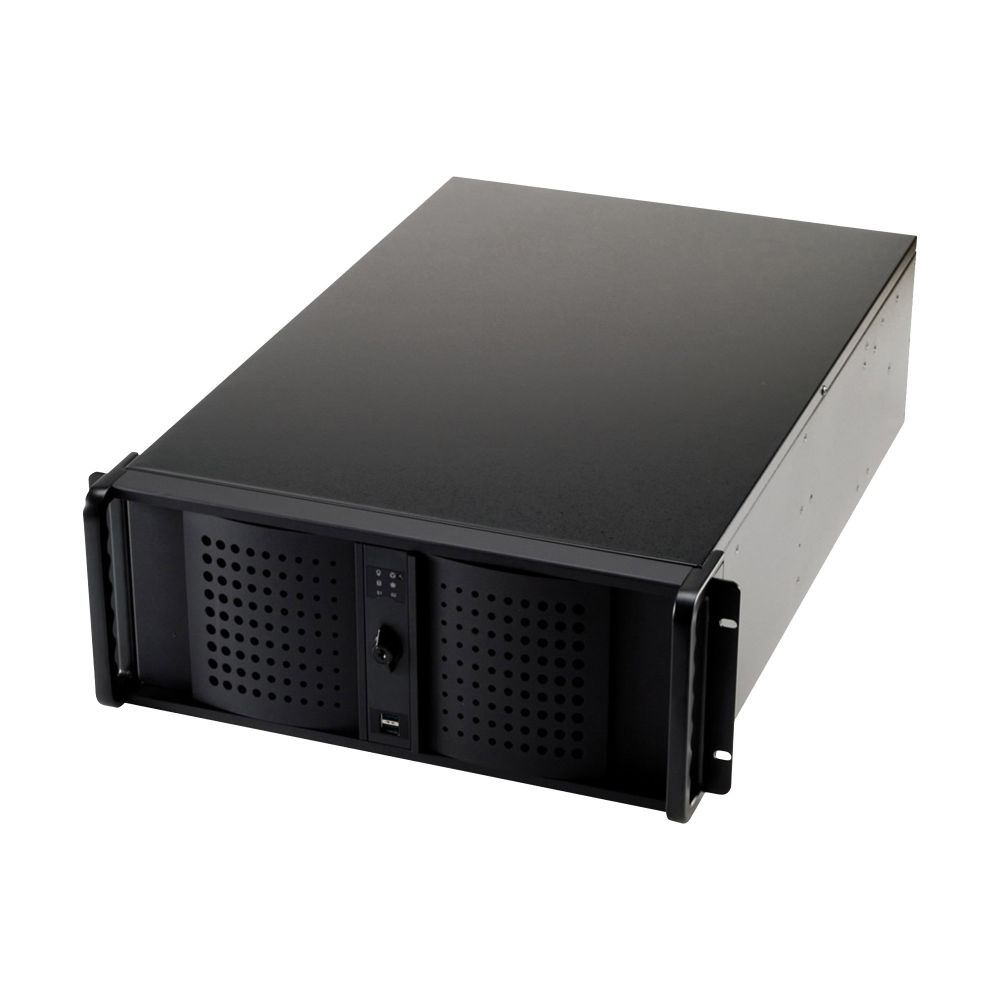 FANTEC TCG-4860X07-1, 19'' Server case 4U, without PSU, 688mm deep, black