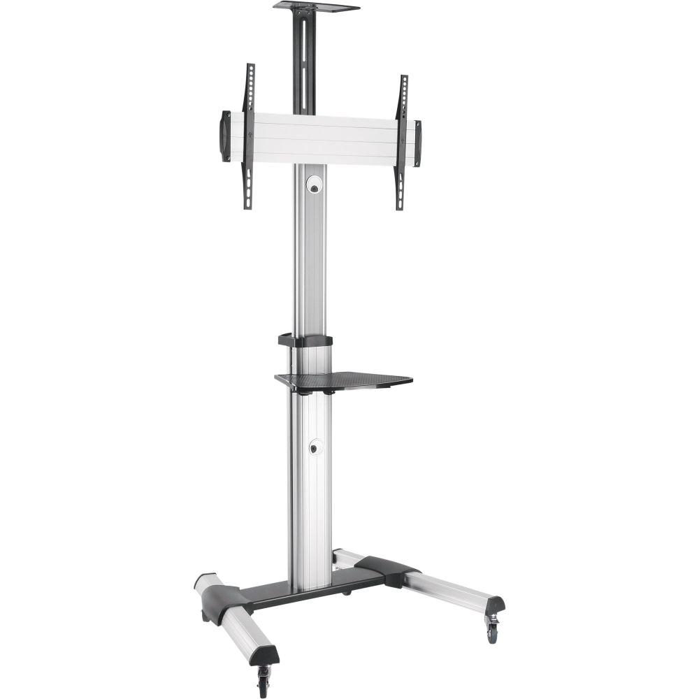 InLine® Height Adjustable TV Cart, for LED-TV 37''-70'' (94-178cm), max. 50kg