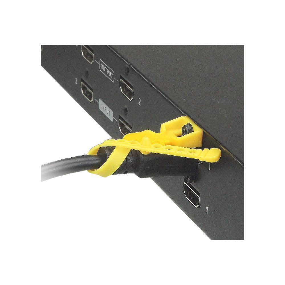 aten 2x-ea12 lockpro - hdmi-kabelsicherung, 10er-pack | marking