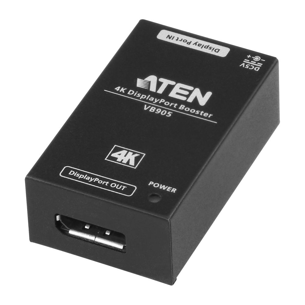 ATEN VB905 4K DisplayPort Booster, signal amplifier up to 5m, cascadable