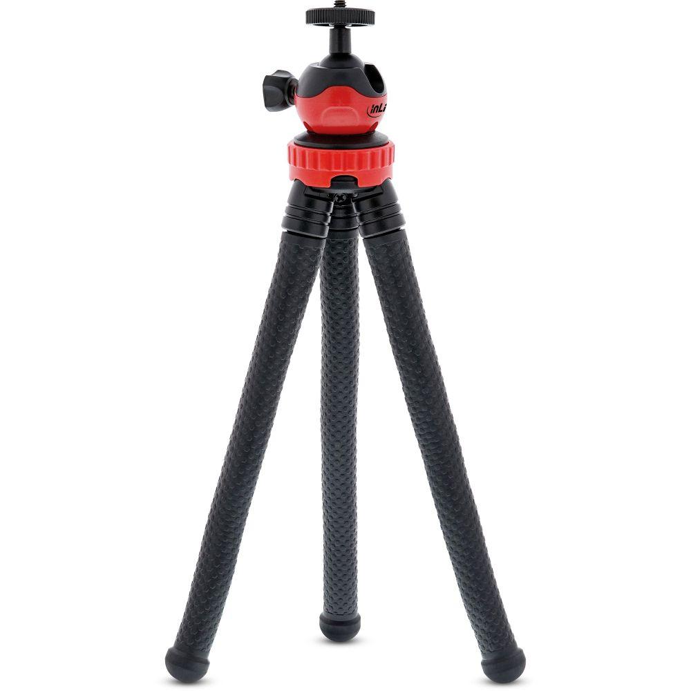 InLine® Multi Grip Flex minitripod 290mm, flexible rubber legs