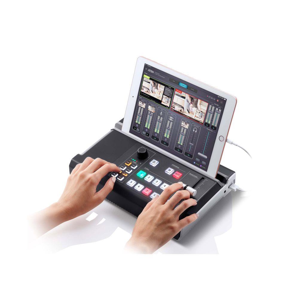 ATEN UC9020 StreamLIVE HD, Multi-Channel AV Mixer