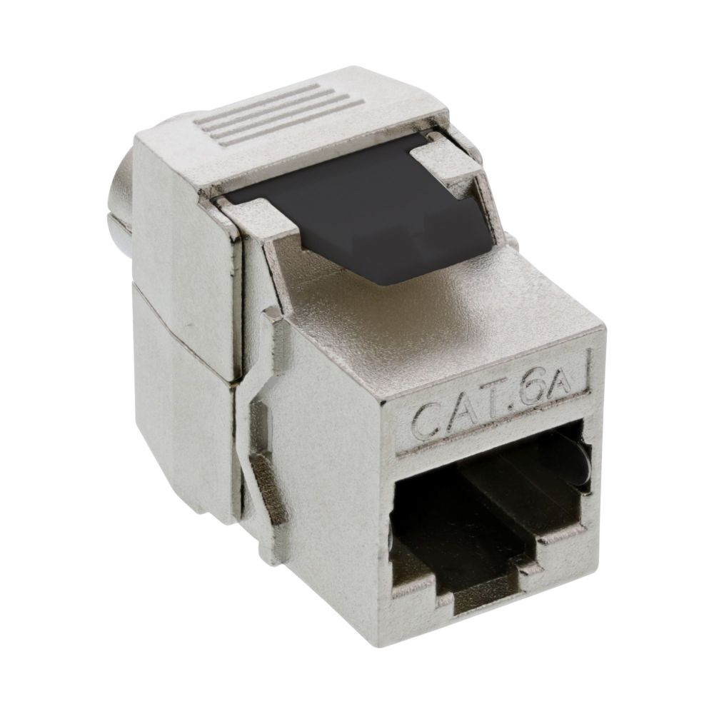 InLine® RJ45 Keystone Jack Snap-In module Cat.6a