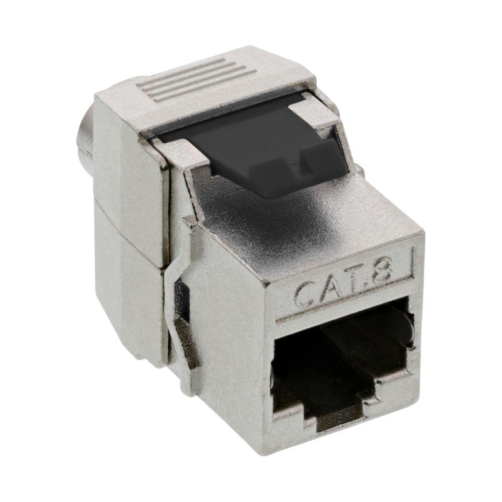 InLine® RJ45 Keystone Jack Snap-In module Cat.8.1