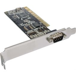 InLine® PCI Multi I/O Controller Card 1 DB9 Serial Port