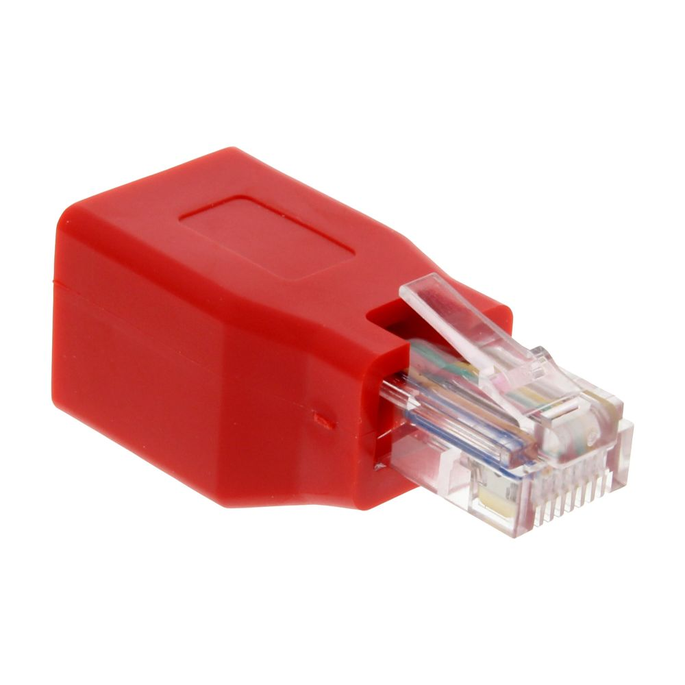 InLine® Crossover Adapter RJ45 male to female