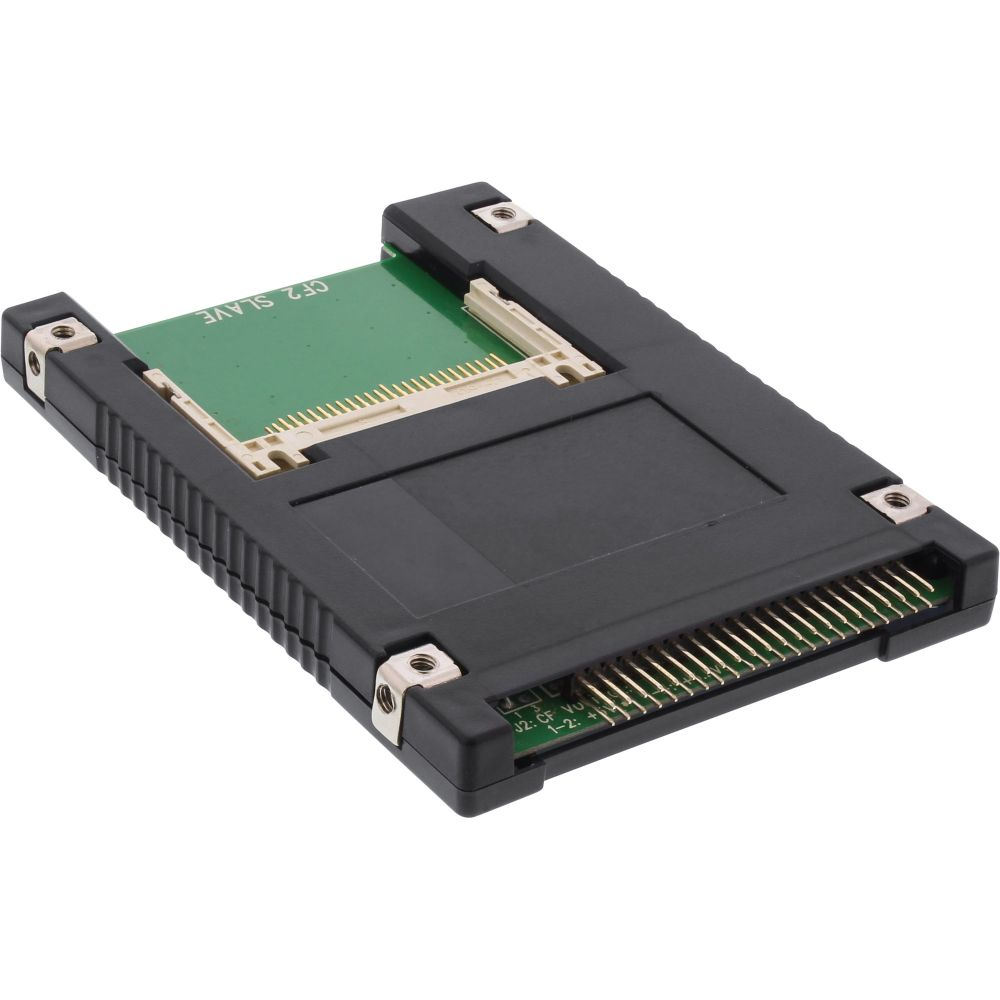 InLine® IDE 2.5'' Drive to 2x Compact Flash Adapter use CF cards as hard disks
