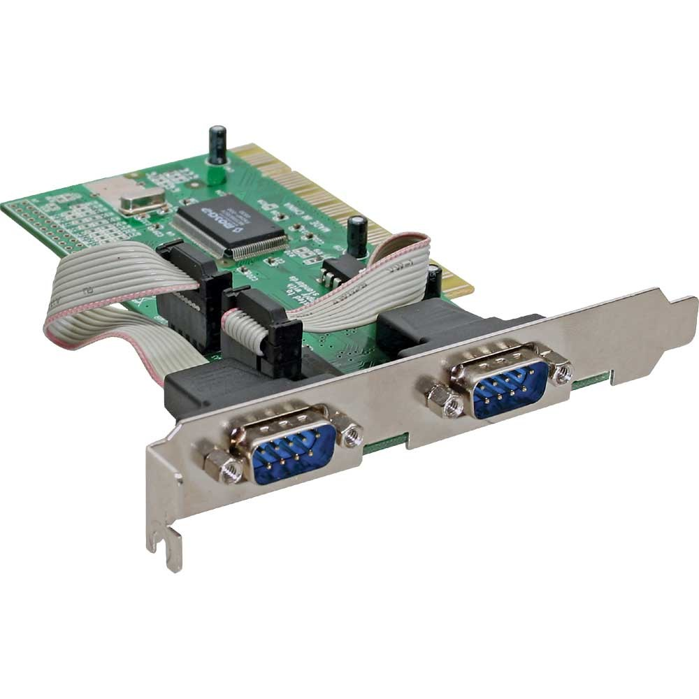 InLine® Multi I/O RS-232 Controller Card with 2 Serial Ports PCI