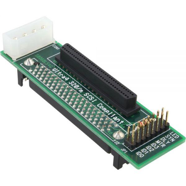 Inline 174 Scsi Sca U320 Adapter 80 Pin Female To 68 Pin