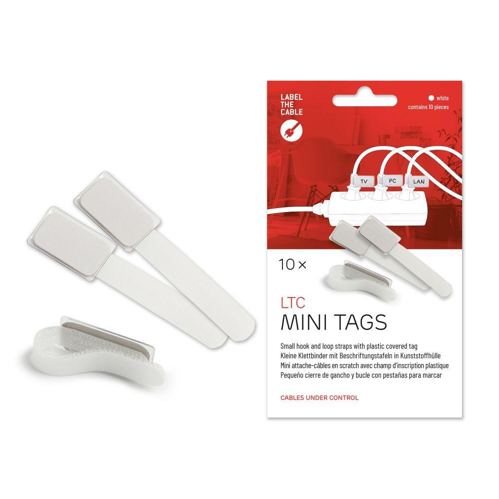 Label-The-Cable Mini, LTC 2520, set of 10 white | Marking
