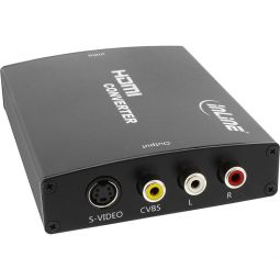 InLine® HDMI to S-Video Converter + RCA Audio Converter