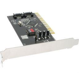 InLine® SATA Raid Controller Card PCI 2 channel Raid 0 or 1