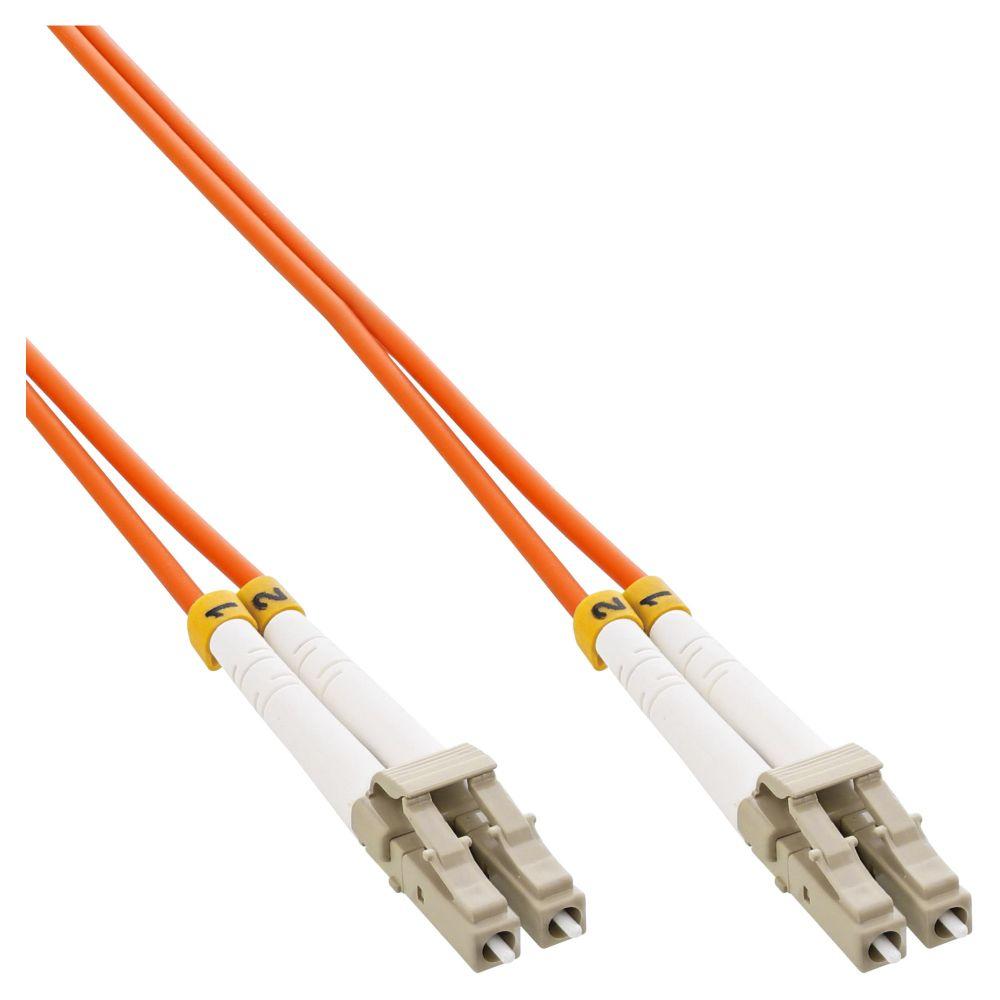InLine® Fiber Optical Duplex Cable LC/LC 50/125µm OM2 5m