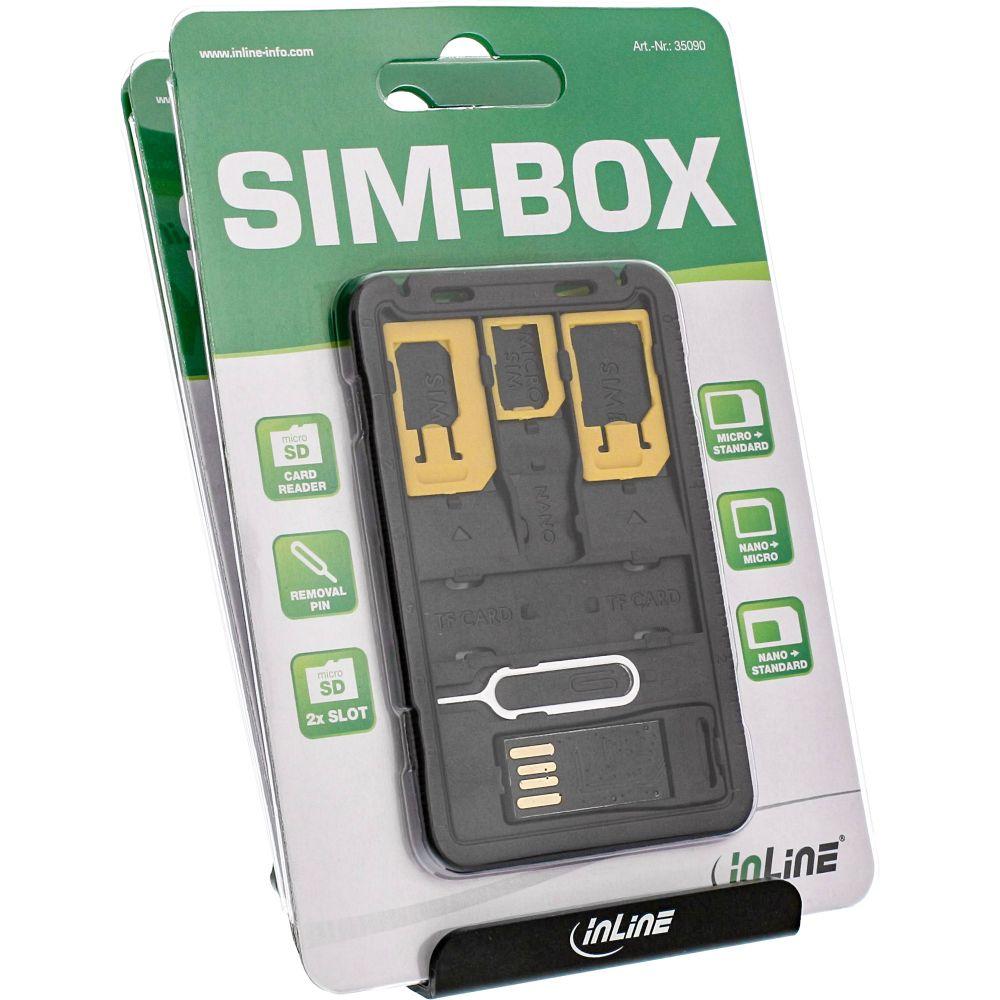 InLine® SIM-BOX POS-Set for counter desk