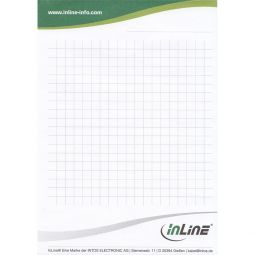 InLine® Notepad DIN A6 50 sheets