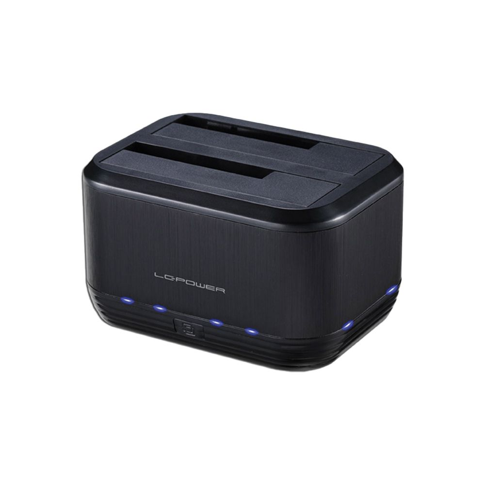 Docking station LC-Power LC-DOCK-U3-III black, USB 3.0, 2,5'' & 3,5''