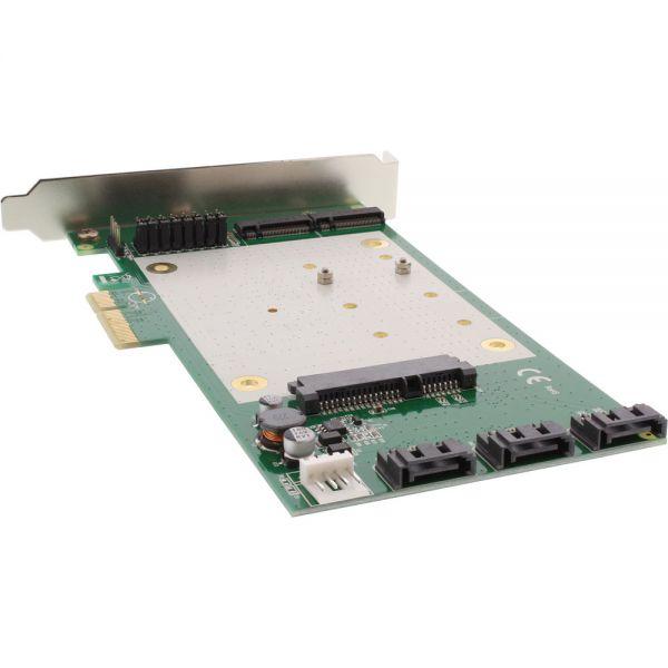 Inline Raid Controller 2x M 2 Ngff 4x Sata 6gb S Raid 0